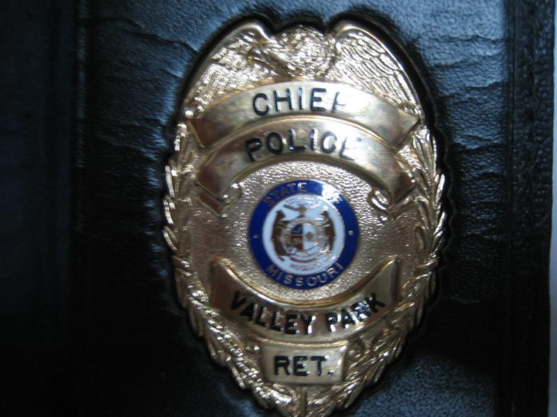 ST  LOUIS POLICE BADGES--LAW ENFORCEMENT MEMORABILIA