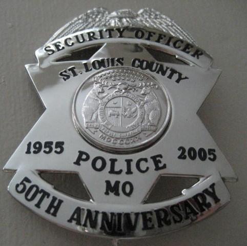 St Louis County Mo Police Law Enforcement Memorabilia