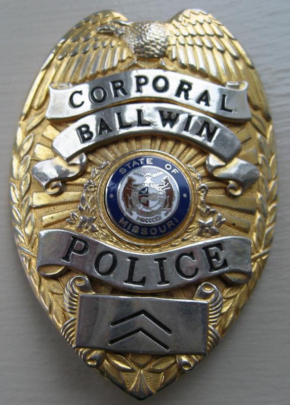 St Louis County Municipal Police Badges Law Enforcement